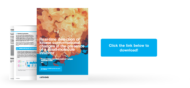 New application note shows how to study transient conformational changes of kinases using the C-Trap®