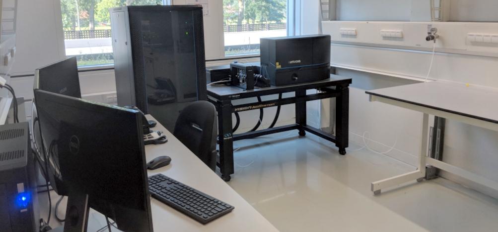 Leiden c-trap installation Alireza Mashaghi Lab