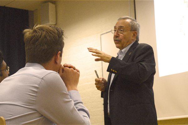 Prof. Carlos Bustamante @ HQ Amsterdam