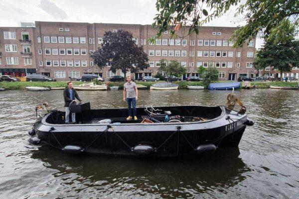LUMICKS HQ Boat