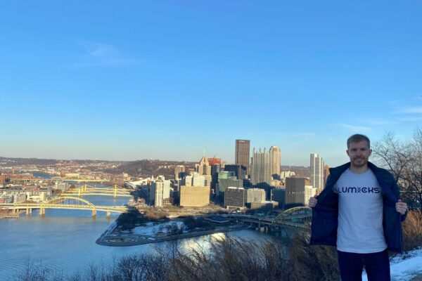 Our application scientist at Pittsburgh